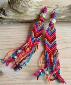 Sofi Bohemian Style, Ibiza Style, Boho, Friendship Keychains, Ibiza Fashion, Fringes, Diy Earrings, Things To Think About, Jewelery