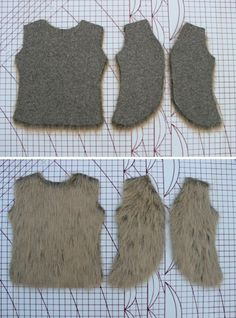 sewpony: How to make...A faux fur vest