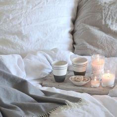 weekend breakfast in bed I think.....