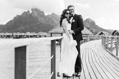 Wedding destination, Four Seasons Resort Bora Bora.
