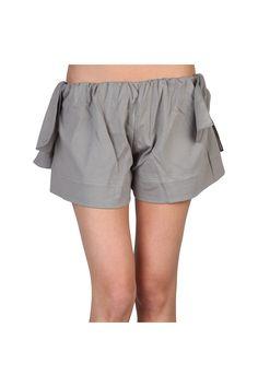 Chloe Pantaloncino Shorts In Gray