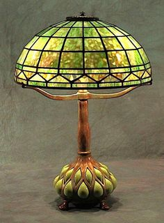 Century Studios Lamp - Arts & Crafts - Craftsman - Tiffany.