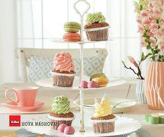 Mini Cupcakes, Desserts, Food, Kitchen, Pastel Palette, Food Coloring, Home Decor Accessories, Decorating Ideas, Simple