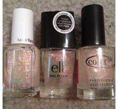 Nail polish DUPES (Essie, Elf, and Color Club)