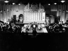 Staff count Magarey Medal votes at Adelaide Town Hall in 1970. That year it went to Barrie Robran, of North Adelaide.