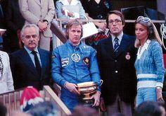 Grand Prix de Monaco 26 Maj 1974 - Ronnie Peterson, Prince Rainier