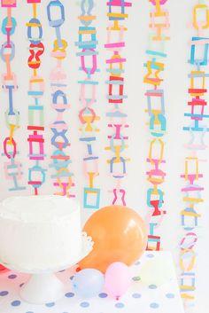 Interlocking Garland DIY | Oh Happy Day