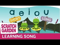 The Long & Short Vowels Song ♫♪♫ | Scratch Garden - YouTube
