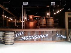 free moonshine tastings in downtown Gatlinburg. Be careful though, they have 20 different flavors and it will go to your head pretty quick!