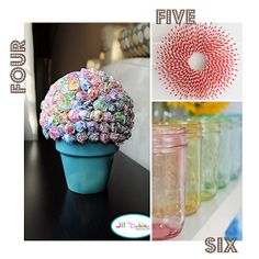 The Love of Cupcake Bakery and Blog in Seattle, WA: DIY { Party Decorations }