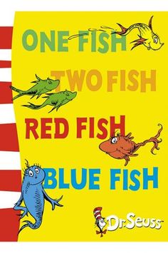 One Fish Two Fish Red Fish Blue Fish: the complete list of Dr. Best Picture For dr seuss costumes Dr Seuss Activities, Fish Activities, Counting Activities, Speech Activities, Preschool Games, Kindergarten Activities, Red Fish Blue Fish, One Fish Two Fish, Rainbow Fish