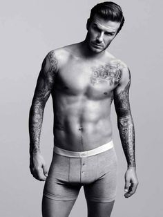 We love having David Beckham on the Galaxy.  We like him even better in his undies :-) - Continued!