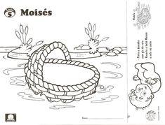 atividades bíblicas sobre Moisés - Pesquisa Google