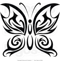 Tattoo Tribal Butterfly Vinyl Decal Sticker For Car Auto Vehicle Tribal Butterfly Tattoo, Butterfly Tattoo Designs, Tribal Tattoos, Stencils, Handmade Scrapbook, Grey Dog, Human Trafficking, Applique Quilts, Car Stickers