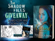 Win a signed copy of one of the shadow files author's Tracy Goodwin's Cursed novel + Coloring book  https://www.facebook.com/events/776146672774720/permalink/783276628728391/