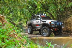 Putting a car show winning, customized Toyota Land Cruiser through its paces in the mountain trails and streams of Tanay, Rizal. Toyota Lc, Toyota Trucks, 4x4 Trucks, Land Cruiser 4x4, Toyota Fj Cruiser, Off Road Truck Accessories, Toyota Runner, Landcruiser 80 Series, Best Off Road Vehicles