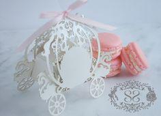 French Macaron Favor Princess Wedding by SplendidSweetShoppe, $5.00