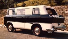1958 Jeep FC-150 Passenger Van prototype, one of only three ever built.