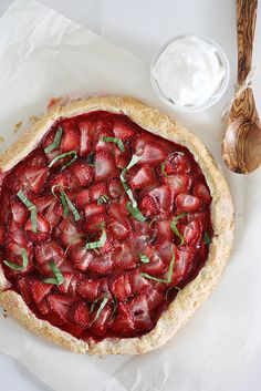 Strawberry Galette | Girl Versus Dough