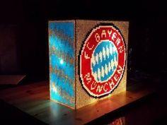 Bügelperlen Vorlagen - Do it yourself... Lampe aus Bügelperlen