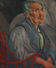 Mulher de Cabelos Verdes Autor: Anita Malfatti Técnica: Óleo sobre tela Dim.: 61 x 51cm Ano: 1916 Assinado no canto inferior esquerdo.