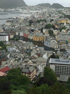 Alesund Noorwegen
