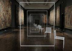 Mimicry chairs at Victoria & Albert for LDN Design Festival by Nendo