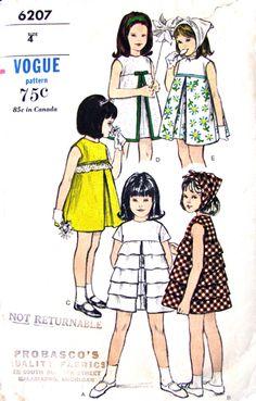 Vogue 6207 - Vintage Sewing Patterns