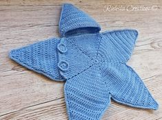 Crochet Pdf Pattern- Star baby bunting-Baby Cocoon  Price is for the PATTERN only, not the finished product.  Size: 0-3 months  There is no shipping charge for this item, as it is a PDF file and will be sent almost direct of payment. If you dont receive it within 24 hours, please, contact me.  All patterns are written in standard American terms.  You can always contact me if you have any problems with the pattern. These patterns are copyright Rieleska Creations ©. Please do not copy, sell or…