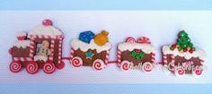2º Reto G6: Galletas de Navidad - Tren navideño | Galletas para Celebrar