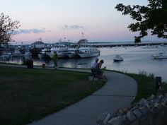Plymouth Harbor at sundown, Plymouth MA  LOVE THIS PLACE!