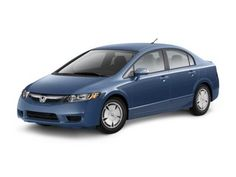 Honda Civic Hybrid - we have had ours for 7 years now and it has been great. Low maintenance, low emissions, great gas mileage.
