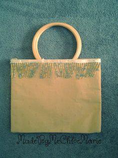Vintage Style Handbag by MadeByMeChloeMarie on Etsy, $15.00
