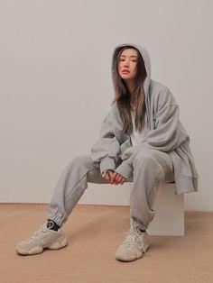 Buy Adidas Yeezy Boost 500 Desert Rat online - Men's style, accessories, mens fashion trends 2020 Hip Hop Outfits, Moda Outfits, Cute Outfits, Casual Outfits, Korean Girl Fashion, Korean Street Fashion, Asian Fashion, Set Fashion, Vintage Fashion