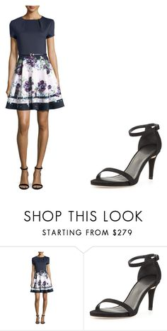 """""""Casual Dress Up day 36"""" by sarahshawverisawesome on Polyvore featuring Ted Baker and Stuart Weitzman"""