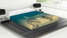 TSUKI Sábanas OSOKU cama motivo orintal japones / Zen Chillout (Cama 150): Amazon.es: Hogar