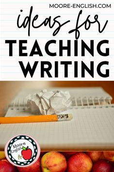 For English language arts teachers, teaching writing and teaching the writing process is essential. With this in mind, Moore English has put together ideas, lesson plans, and instructional strategies for making the most of teaching narrative, informative / explanatory, persuasive / argumentative, and paragraph writing. These tips, tricks, and ideas work for elementary, middle, and high school language arts teachers. Perfect for in-seat or distance learning and remote teaching.