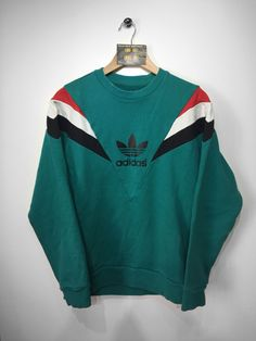 Adidas sweatshirt size Medium £36 Website➡️ www.retroreflex.uk #adidas #trefoil #vintage #truevintage #oldschool #retro