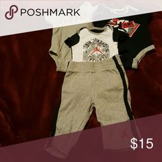 Jordan baby bundle 3 onsies & 1 pants Jordan One Pieces Bodysuits
