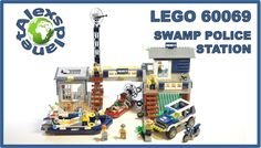 Lego City 2015 60069 Swamp Police Station Build Review