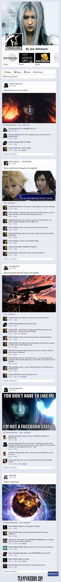 Final Fantasy VII on Facebook (Disc 3)