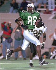 d0588e4e6 Randy Moss at Marshall University College Football Players