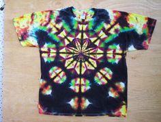 Earth Mandala Tie Dye by tiedyetodd on Etsy, $25.00 xl