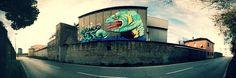 Wall painting of Ericailcane  #ericailcane  photo by Luca Sartoni #ravenna #myravenna #streetart #urbanart #graffiti #murales #art