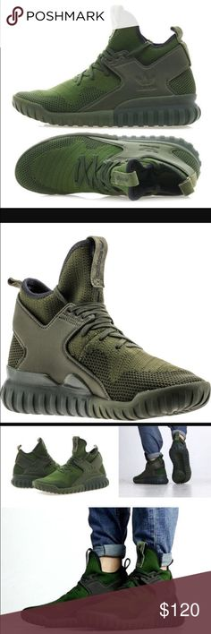 **NWB** TUBULAR X PRIME KNIT CARGO BLACK ADIDAS TUBULAR X PRIME KNIT ALL REASONABLE OFFERS ACCEPTED! SORRY NO TRADES! Adidas Shoes Sneakers