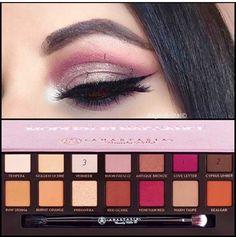 Makeup Eye Looks, Makeup For Green Eyes, Eye Makeup Tips, Makeup Inspo, Eyeshadow Makeup, Makeup Inspiration, Beauty Makeup, Anastasia Palette, Anastasia Makeup