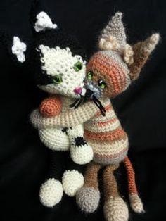 GATTI RANDAGI - amigurumi crochet - stray cats