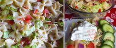 Recept Jednoduchý letní těstovinový salát připravený za 20 minut Potato Salad, Potatoes, Ethnic Recipes, Food, Al Dente, Poor Mans Recipes, Top Recipes, Coleslaw, Sugar