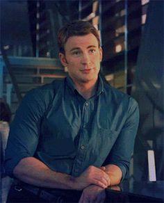 Steve: 'it's nice.' Bruce: 'what?' Steve: 'you and Nat.' Bruce: 'oh, no, Natasha, she likes to....flirt.' Steve: 'I've seen her flirt, up close, this ain't that.'