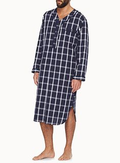 Plaid nightshirt | Simons